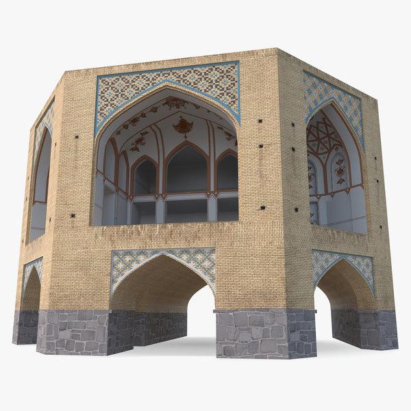 persian building 3D model
