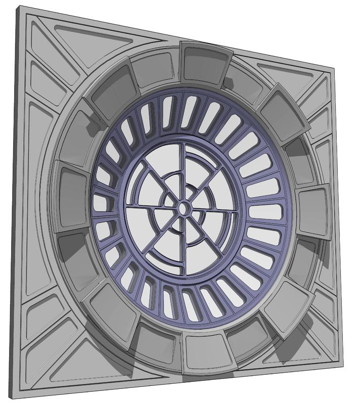 3D sketchup model