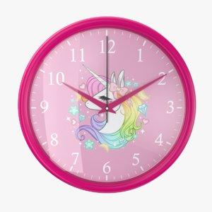 3D wall 05 clock model