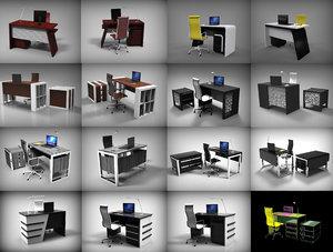 designer tables 3D model
