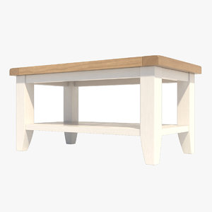 2 oak wood 3D model