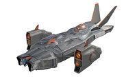 space ship model