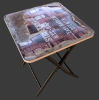 Fold Table NY Old