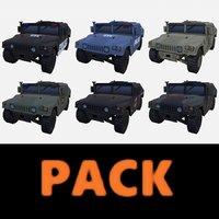 car military pack model