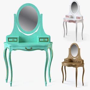 dressing table 3D