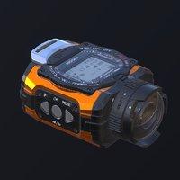action camera ricoh 3D model