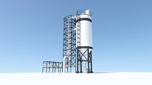 3D model refinery reactor
