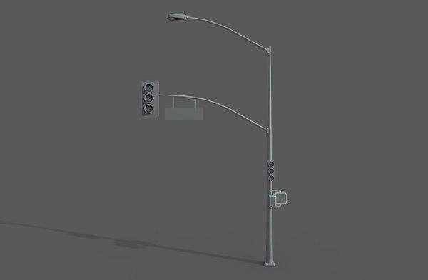 3D light post