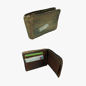 wallet id 3D model