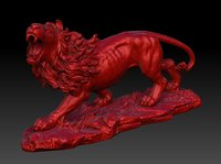 Lions Bust