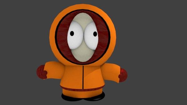 kenny mccormick 3D model