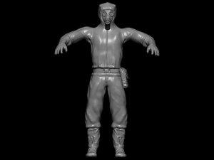 character zbrush model