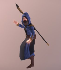 3D animations colors staff
