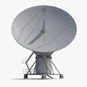 radio telescope 3D