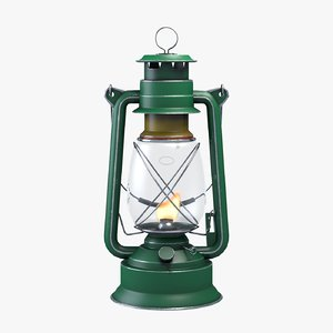 greenish lantern 3D