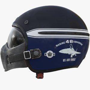 3D model corsair harisson helmet