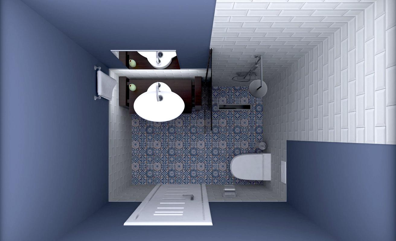 bathroom design new 3D model