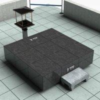 3D raj ghat :