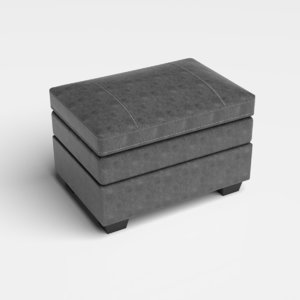 chair ottoman 3D model