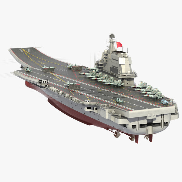 3D chinese aircraft carrier cv-17 model