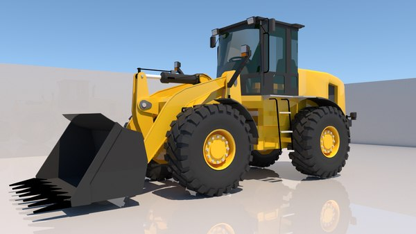 3D model excavator x