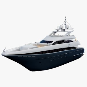 superyacht g3 3D model