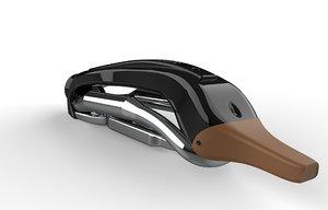 3D harley davidson vacuum cleaner