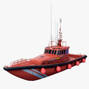 search rescue vessel ship model