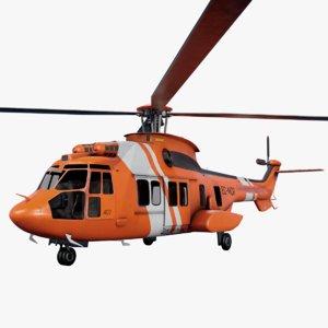 eurocopter ec 225 3D