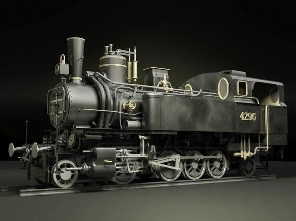 mav 40 steam locomotive model