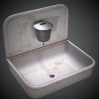 3D model old sink