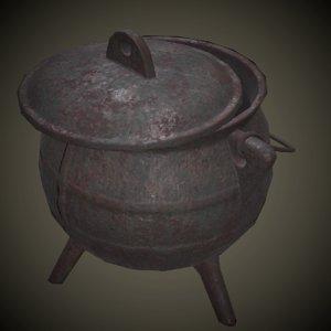 3D iron pan