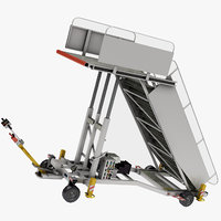 3D air truck zodiac model