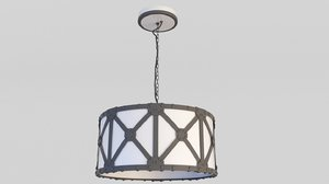 lamp forged 3D model