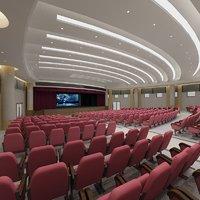 3D auditorium hall