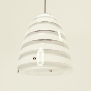 louis poulsen pendant lamp 3D model