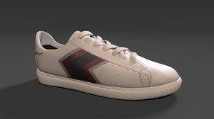 sneakers armani 3D model