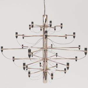 3D lamp gino chandelier model
