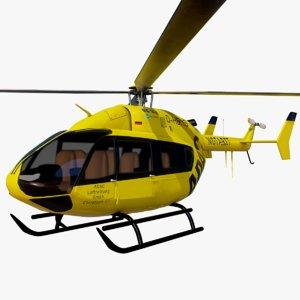 3D eurocopter ec 145 model