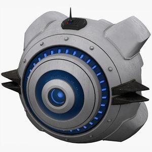 sci fi drone model