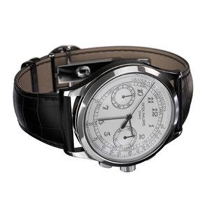 watch patek phillippe 3D model