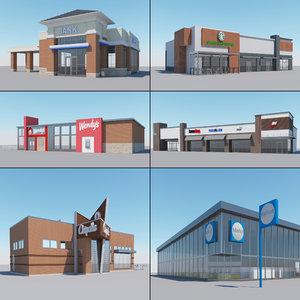 retails 3D model
