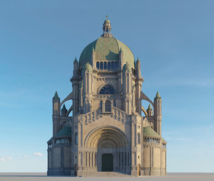 3D model royale sainte marie church