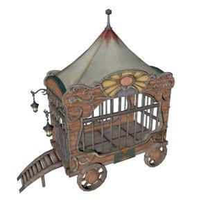 circus cart 3D