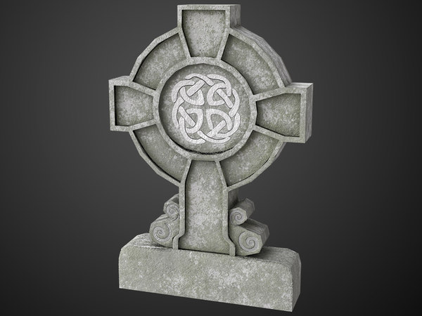 celtic tombstone model