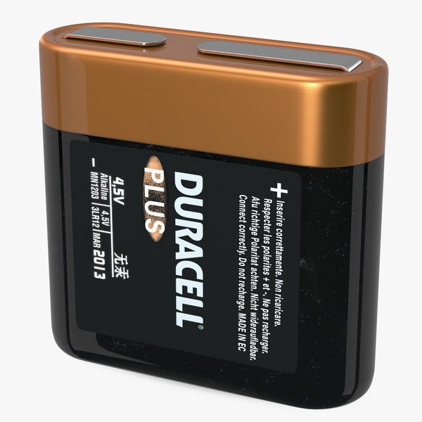 3D duracell 4-5 volt battery