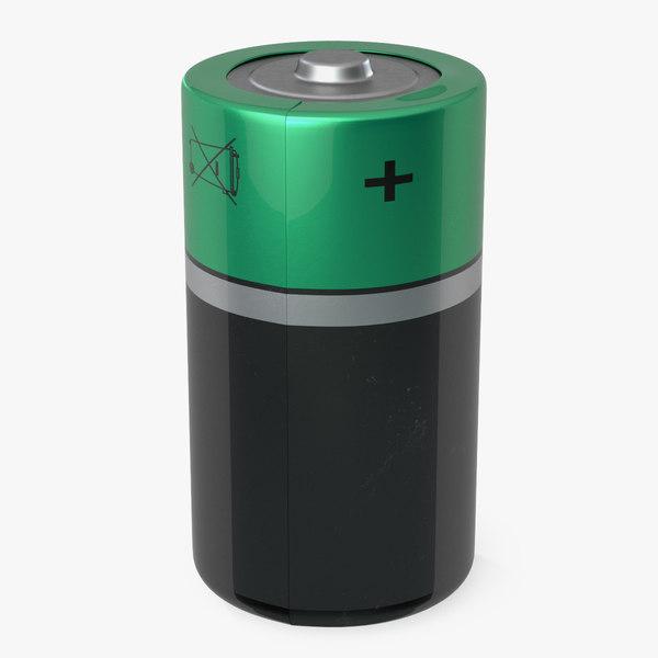 3D lr20 battery model