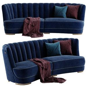 3D model vittoriafrigerio farnese sofa