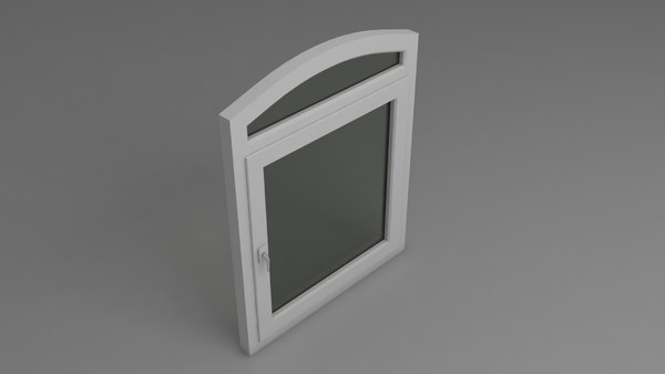 pvc window single model