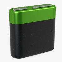 4-5 Volt Battery Generic 3D Model